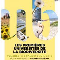Universités de la Biodiversité - ROCHEFORT
