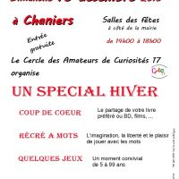 SPECIAL HIVER - CHANIERS